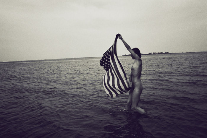 "Feature Photo Shoot: ""Flag"" by Silja Magg"