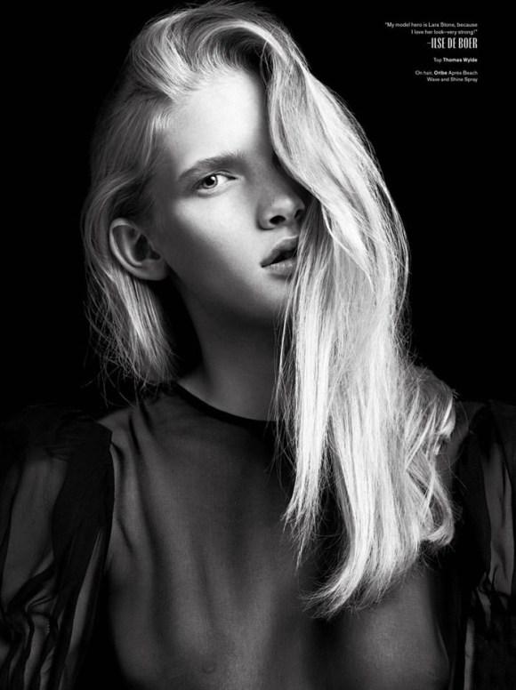 Ilse De Boer by Hedi Slimane for V Magazine