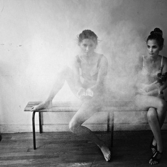 Anastasya & Ela photographed by Boris Ovini for On The Field