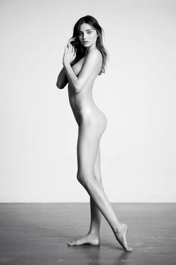 Miranda Kerr by Willy Vanderperre for Industrie