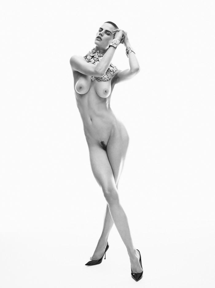 Saskia de Brauw by Josh Olins for Industrie #4