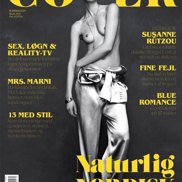Iselin Steiro by Hasse Nielsen for Cover Denmark