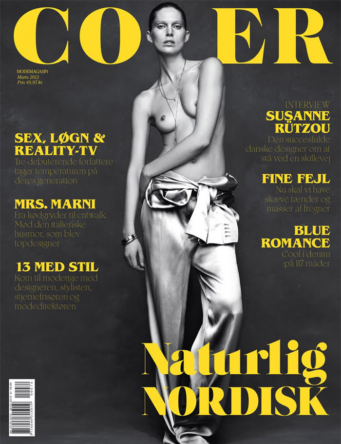 Iselin Steiro by Hasse Nielsen for Cover Denmark