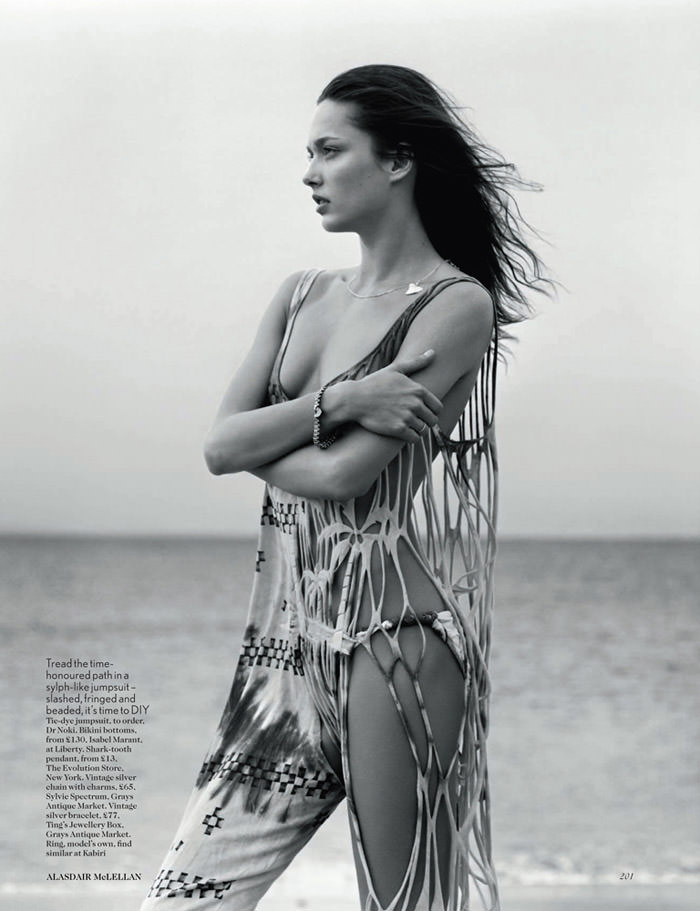 Sigrid Agren by Alasdair McLellan for Vogue UK