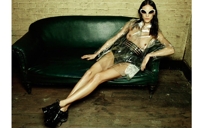 Aymeline Valade photographed by Emma Summerton for Fat Magazine, Spring & Summer 2012