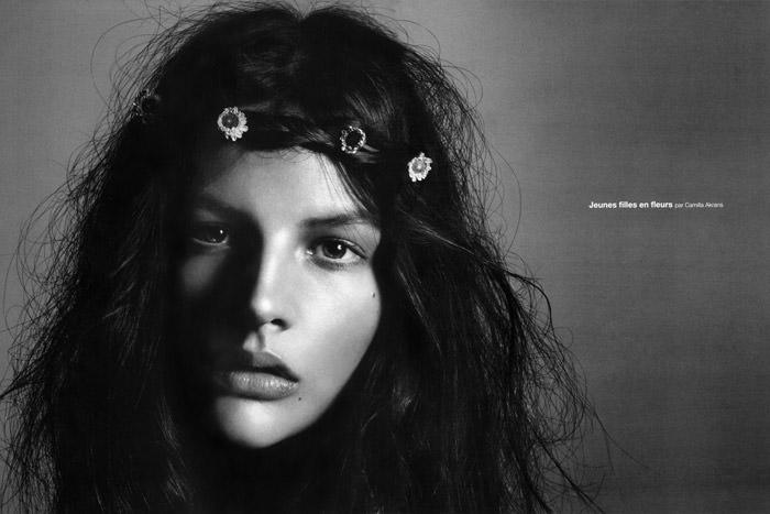 Jeunes Filles En Fleurs by Camilla Akrans for Numero