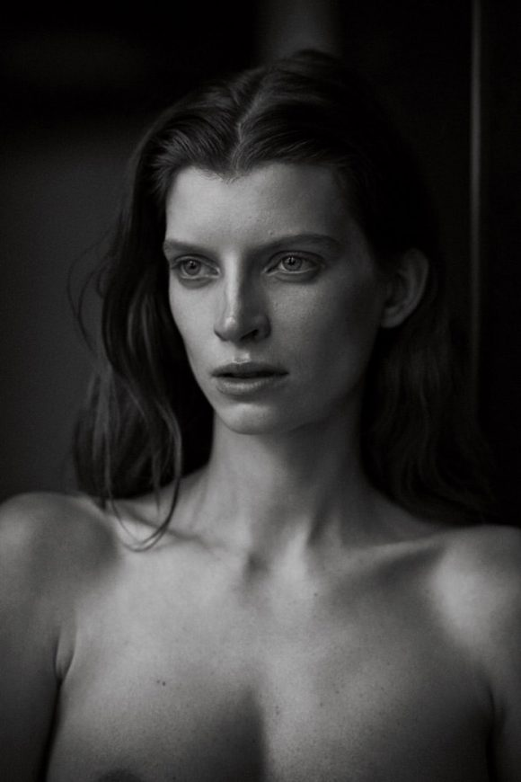 Luca Gajdus by Peter Lindbergh for Vogue Germany