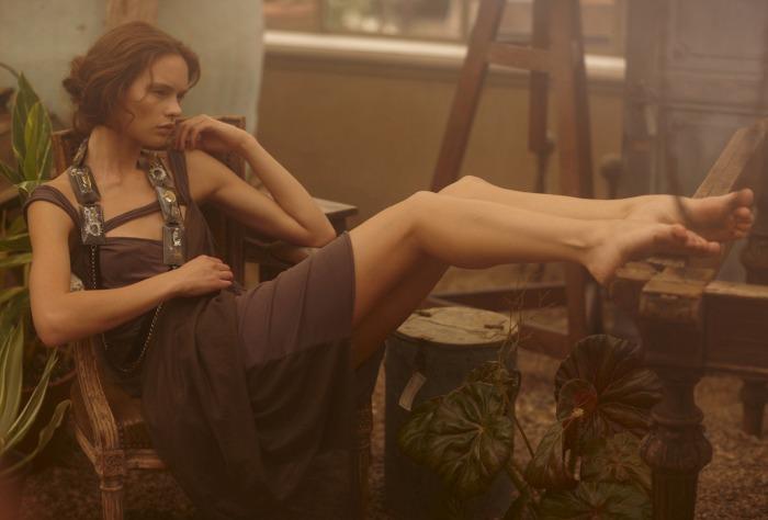 Anastasia Khodkina photographed by David Uchitel for Gravure Magazine, Summer 2012
