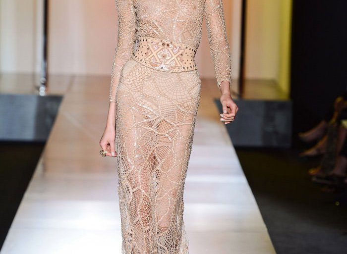 Karlie Kloss for Versace Haute Couture at Paris Fashion Week