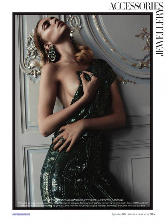 Emily Senko by Rafael Stahelin for Harper's Bazaar UK