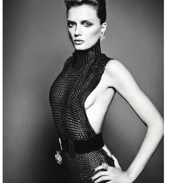 Lily Donaldson by Tom Munro for Numero