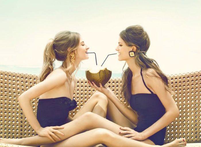 Amanda Norgaard and Frederikke Winther by Signe Vilstrup for Elle Denmark