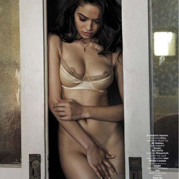 Shanina Shaik by Kate Orne for GQ Italy