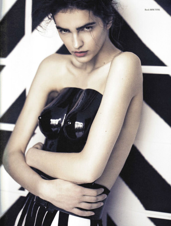 Vanusa Savaris by Randall Bachner for Fraulein Magazine