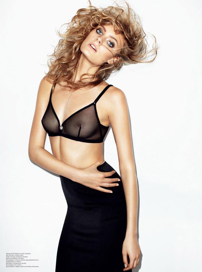 Constance Jablonski photographed by Maciek Kobielski for The Last Magazine, Fall 2012
