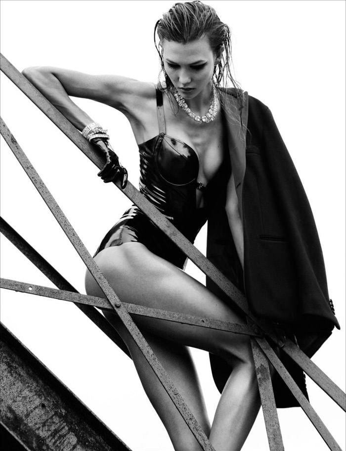 Karlie Kloss by Greg Kadel for Numero