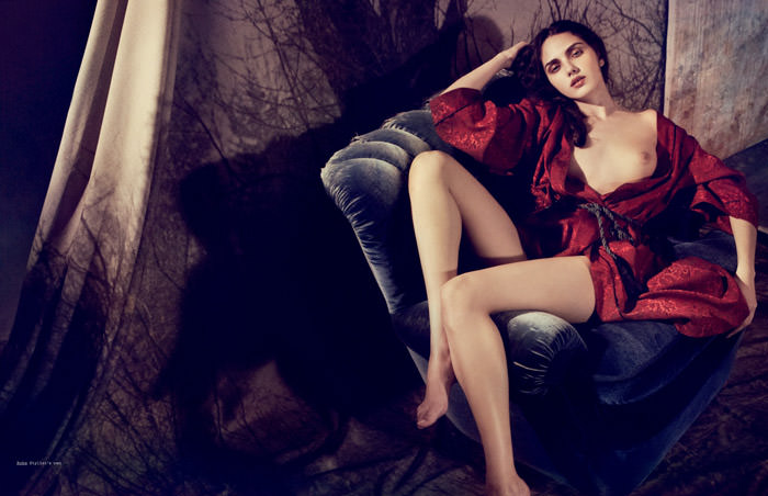 Zhanna Havenko photographed by Marcus Ohlsson for S Magazine #10