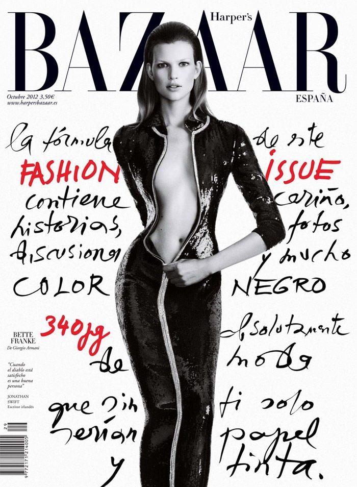 Bette Franke by Nico for Harper's Bazaar Spain