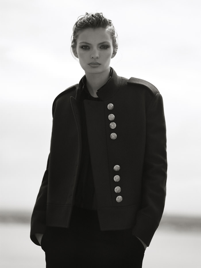 Carola Remer photographed by Ben Weller for Harper's Bazaar UK, November 2012