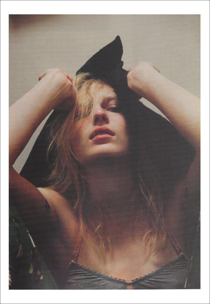 Julia Nobis photographed by Cara Stricker for Russh, October & November 2012