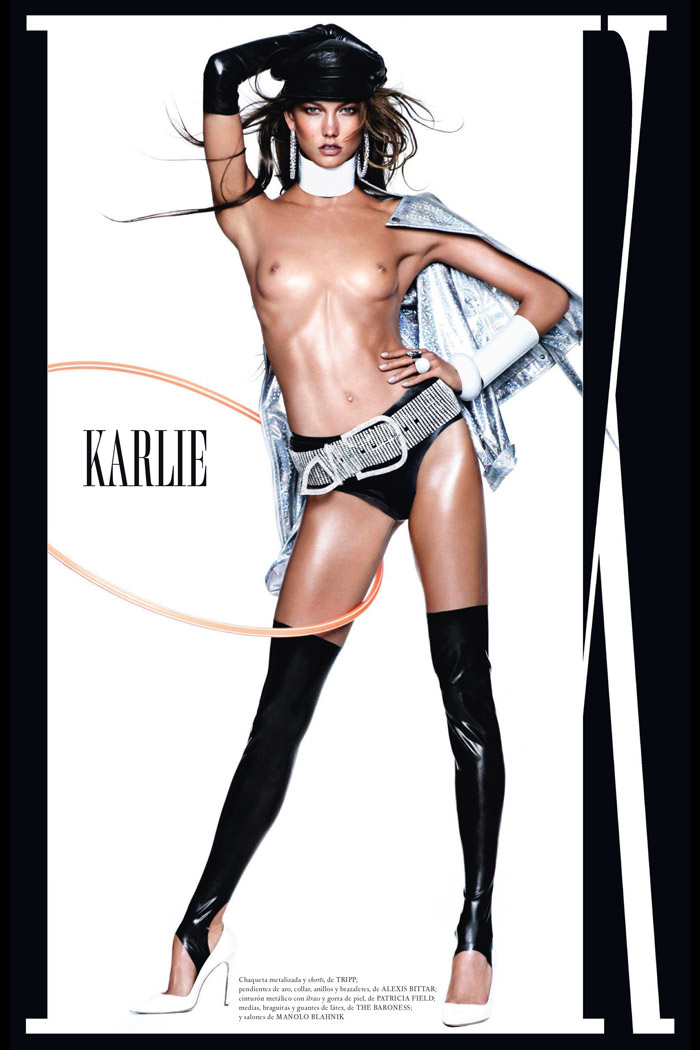 Karlie Kloss by Mario Testino for Vogue Spain