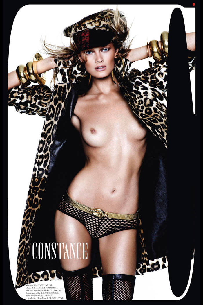 Constance Jablonski by Mario Testino for Vogue Spain