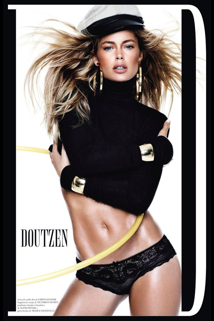 Doutzen Kroes by Mario Testino for Vogue Spain