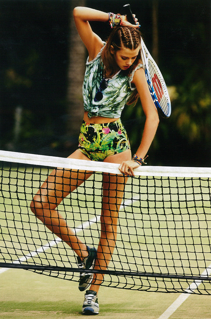 Victoria Lee photographed by Nick Leary for Grazia Australia, November 2012