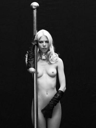 Aline Weber by Matthew Brookes for SN Brasil