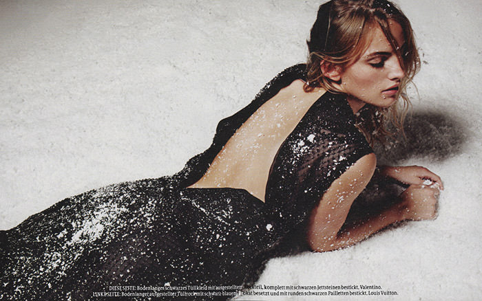 Maxime van der Heijden photographed by Gianluca Fontana for Bolero Magazin, Winter 2012