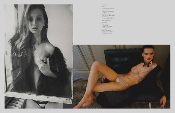 Francois Rotger for French Revue de Modes