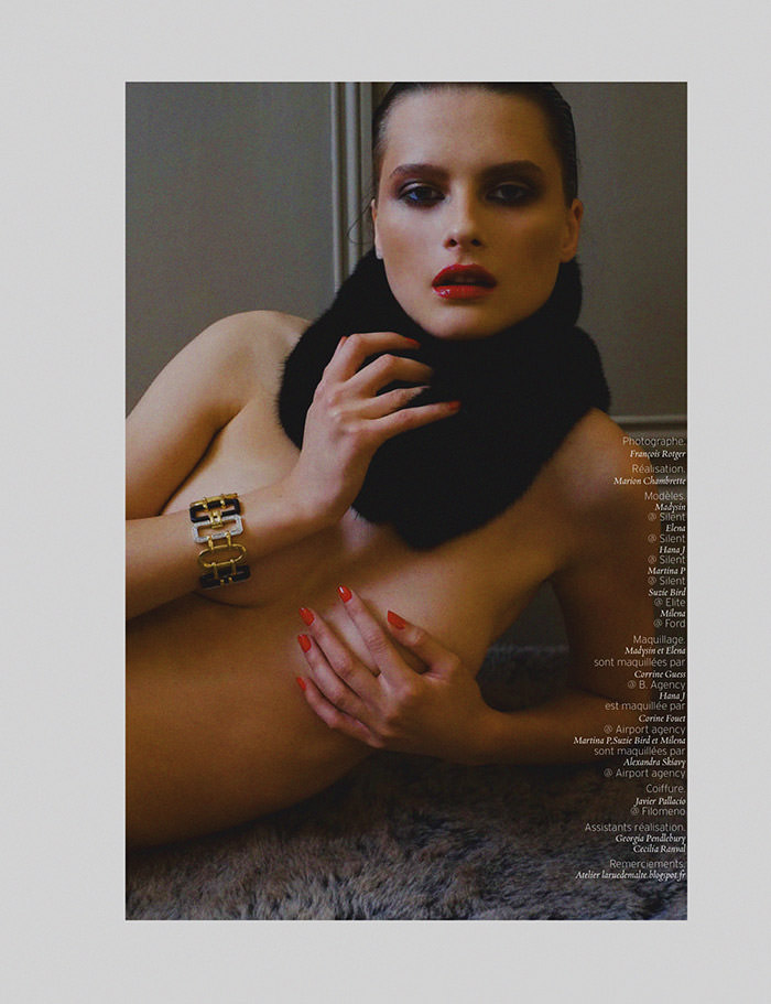 """Girls, Girls"" photographed by Francois Rotger for French Revue de Modes #21"