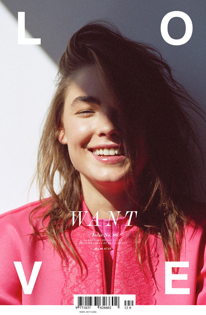 Bambi Northwood-Blyth covers LoveWant #6