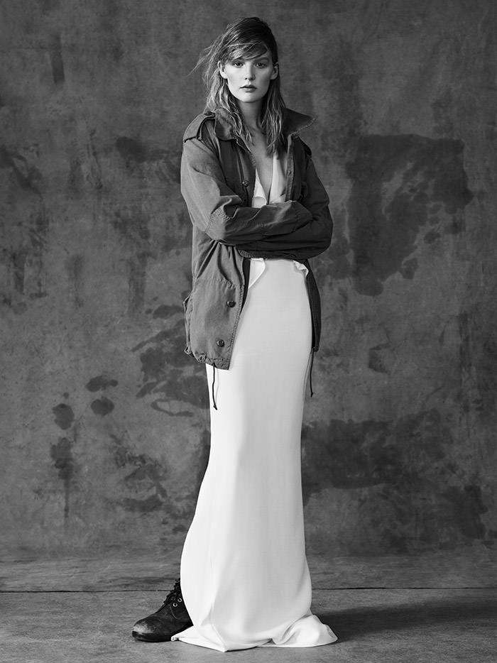 Sara Blomqvist by Ben Weller for Muse Magazine