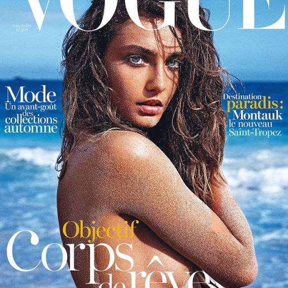 Andreea Diaconu by Mario Sorrenti for Vogue Paris