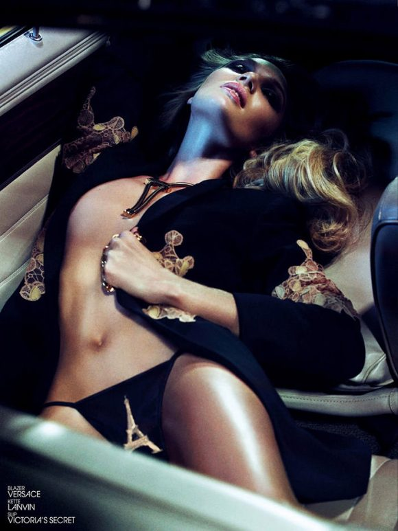 Candice Swanepoel by Sharif Hamza for Interview Germany