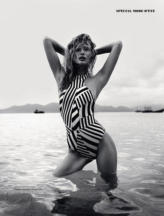 Edita Vilkeviciute by Jan Welters for Elle France