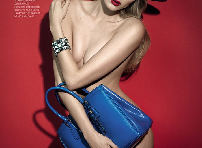 Elsa Hosk by Henrique Gendre for Vogue Brazil