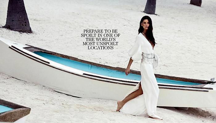 Ava Smith by Lincoln Pilcher for Vogue Australia