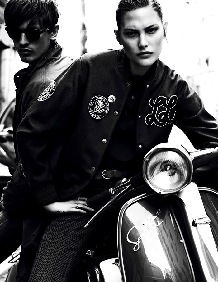Catherine McNeil by Claudia Knoepfel and Stefan Indlekofer for Vogue Paris