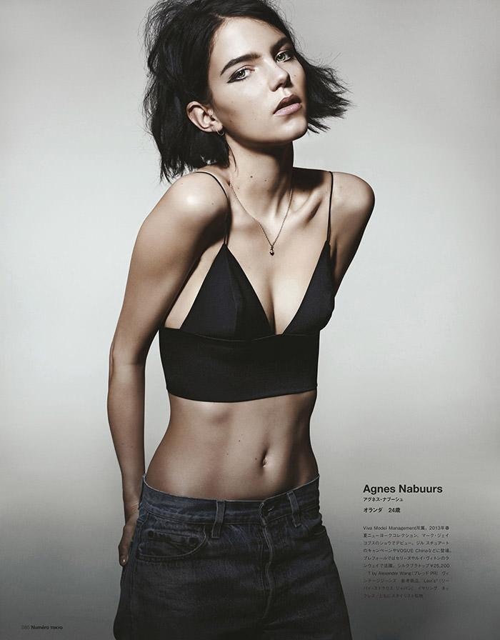 Agnes Nabuurs by Yasunari Kikuma for Numero Tokyo