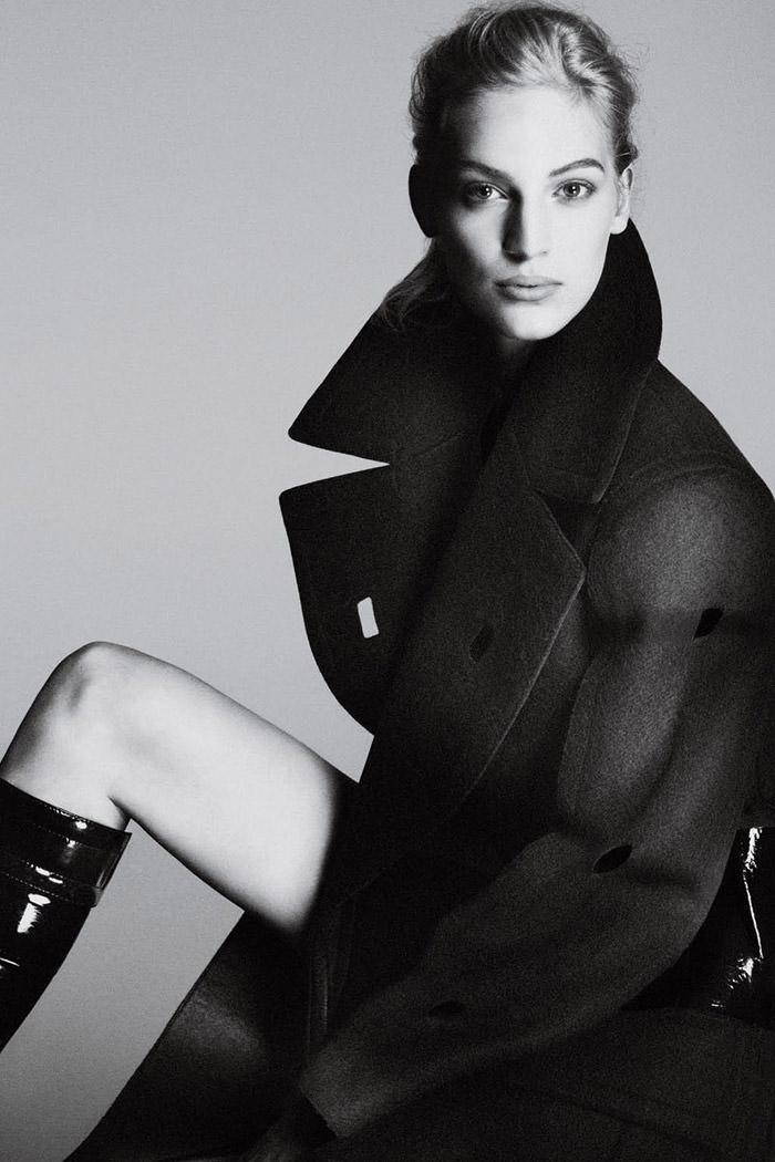 Vanessa Axente by Mert Alas and Marcus Piggott for Calvin Klein