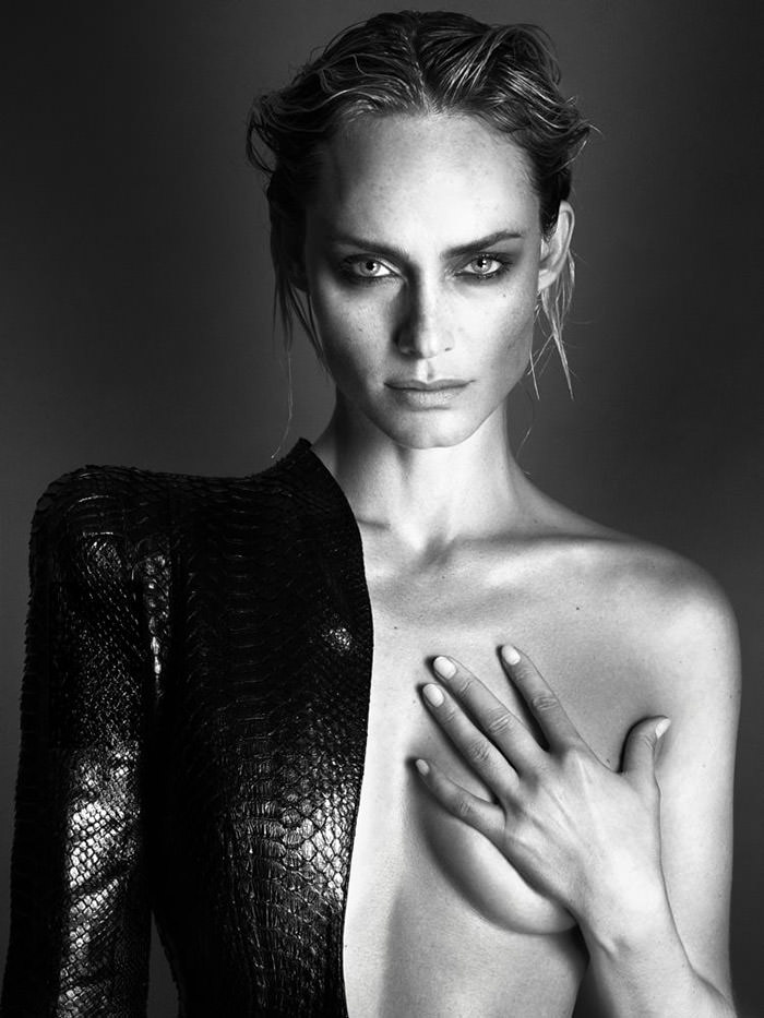 Amber Valletta by Mert & Marcus for Interview