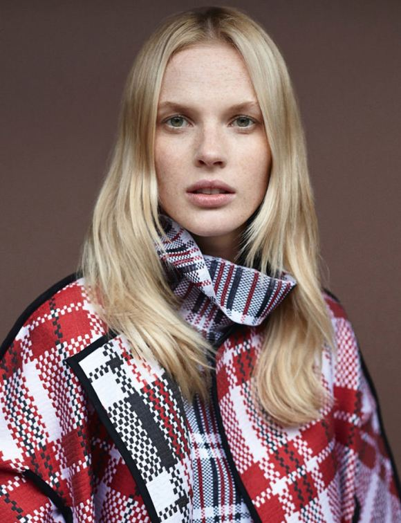 Anne Vyalitsyna by Alex Cayley for Amica