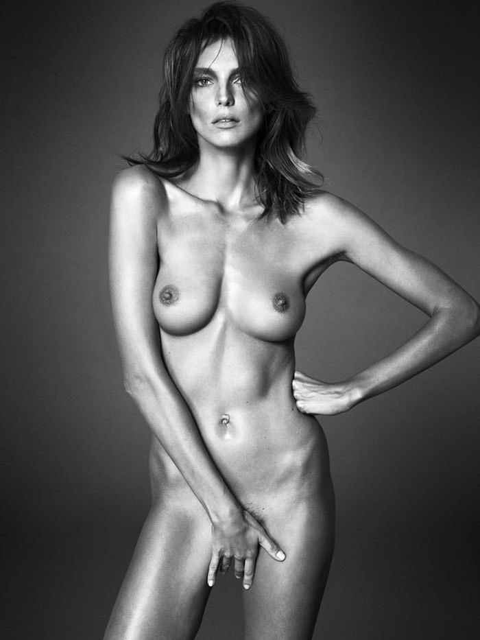 Daria Werbowy by Mert & Marcus for Interview