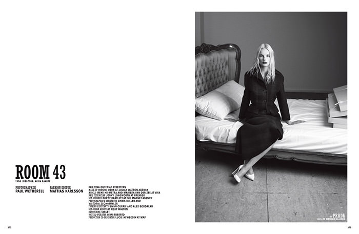 Irene Hiemstra and Mariska van der Zee by Paul Wetherell for 10 Magazine
