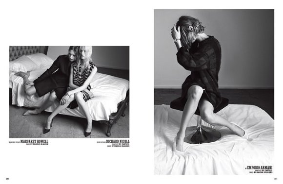 Irene Hiemstra and Mariska van der Zee by Paul Wetherell for 10 Magazine