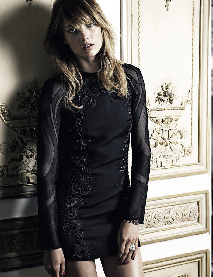 Karmen Pedaru by Claudia Knoepfel and Stefan Indlekofer for Vogue Russia