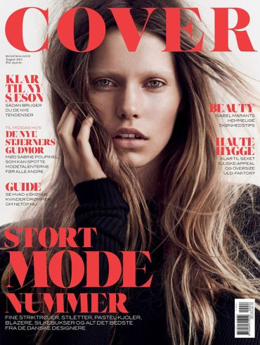 Kirstin Kragh Liljegren by Hasse Nielsen for Cover Denmark