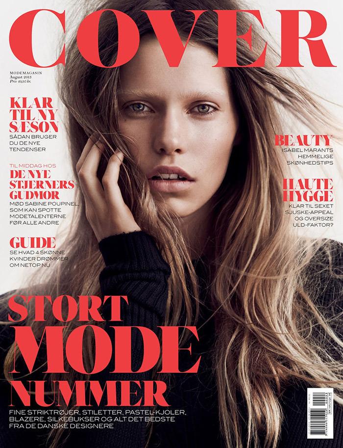 Kirstin Kragh Liljegren by Hasse Nielsen for Cover Denmark